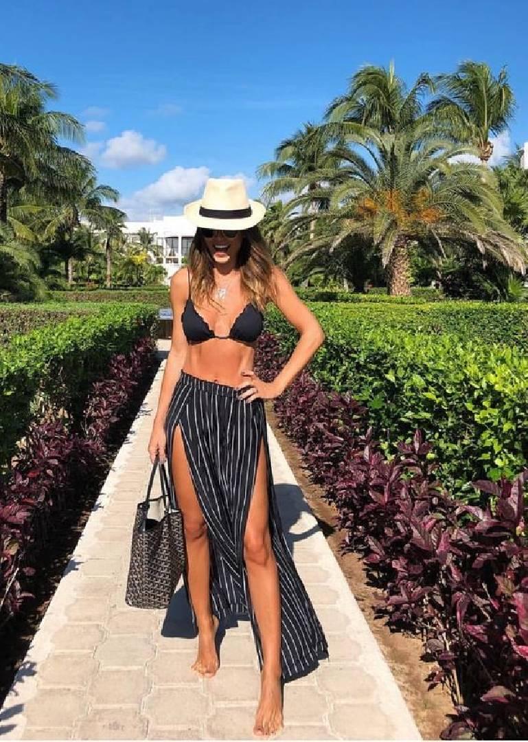 jupe maxi bikini